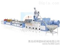 PVC木塑建筑模板设备生产线