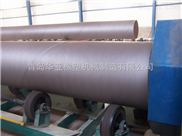 青島華亞塑機供應3pe拋丸除銹設備
