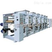 国研塑料机械1-8色凹版塑料薄膜印刷机组性能卓越品质突出欢迎参观工厂
