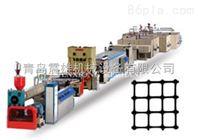 供应PE 单向双向拉伸土工格栅生产线