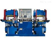 轨道开模橡胶热压硫化机_轨道开模翻板橡胶平板硫化机