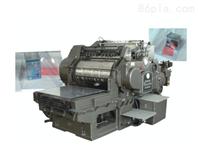 2色卷筒紙張印刷機