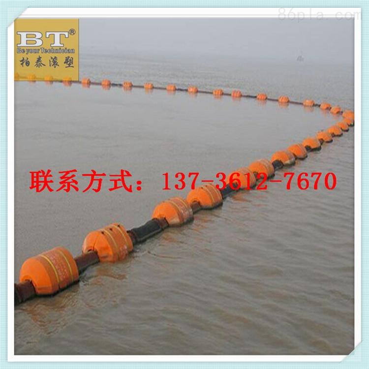 舟山海上管道浮筒两半片浮体